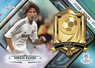 2018-19 Topps Chrome UEFA Champions League Soccer Cards 2