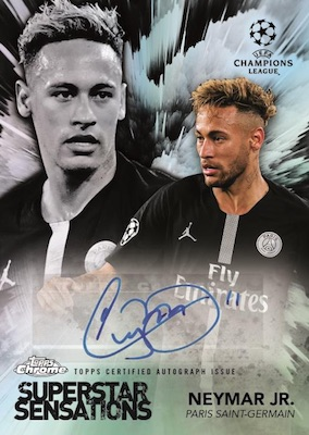 2018-19 Topps Chrome UEFA Champions League Soccer Cards 4