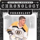 2018-19 Upper Deck Chronology Hockey Volume 1 Cards