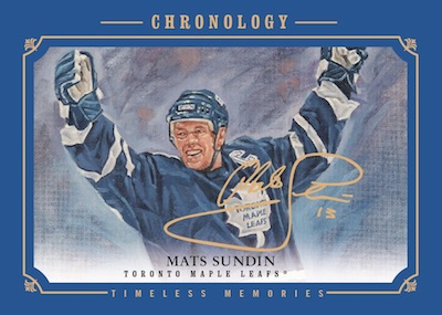 2018-19 Upper Deck Chronology Hockey Cards 6