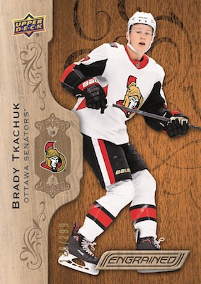 2018-19 Upper Deck Engrained Hockey Cards 1