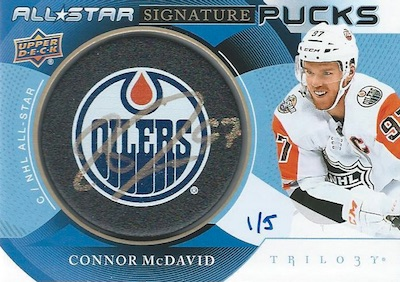 2018-19 Upper Deck Trilogy Hockey