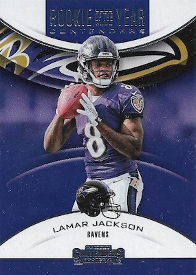 2018 Panini Contenders Football Cards - Rookie Ticket Short Print Runs 37