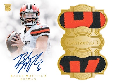 2018 Panini Flawless Football Cards 5