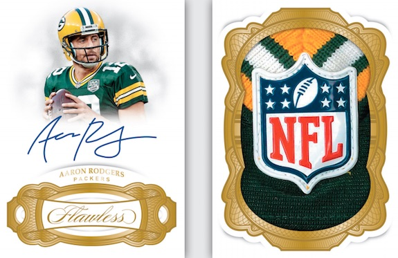 2018 Panini Flawless Football Cards 8