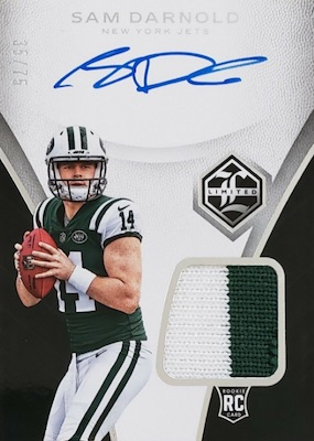 2018 Panini Limited Football Cards 4