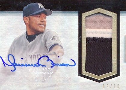 1st Unanimous HOF Selection! Top Mariano Rivera Cards 13