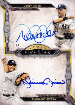 1st Unanimous HOF Selection! Top Mariano Rivera Cards 11