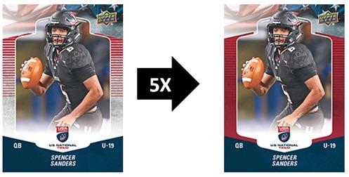 2018 Upper Deck USA Football Cards 1