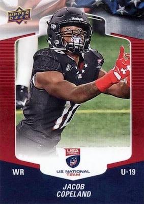 2018 Upper Deck USA Football Cards 23