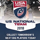 2018 Upper Deck USA Football Cards