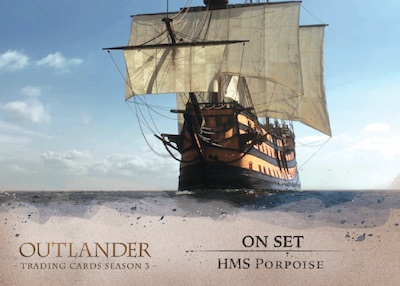 2019 Cryptozoic Outlander Season 3 Trading Cards 5