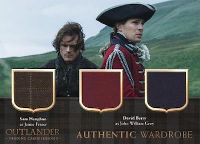 2019 Cryptozoic Outlander Season 3 Trading Cards 33