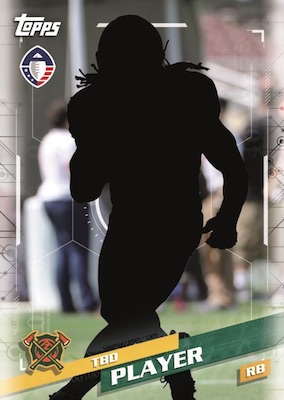 2019 Topps Alliance of American Football AAF Cards - Updated Details 3