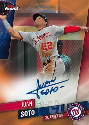 2019 Topps Finest Baseball Cards - Checklist Added 6