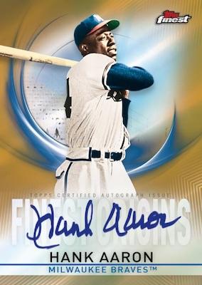 2019 Topps Finest Baseball Cards - Checklist Added 7