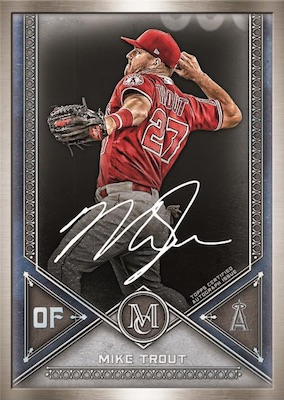 2019 Topps Museum Collection Baseball Cards - Checklist Added 5
