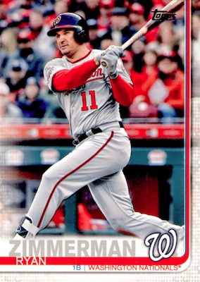 2019 Topps Series 1 Baseball Variations Checklist and Gallery 72
