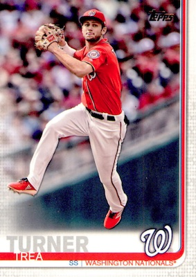 2019 Topps Series 1 Baseball Variations Checklist and Gallery 96