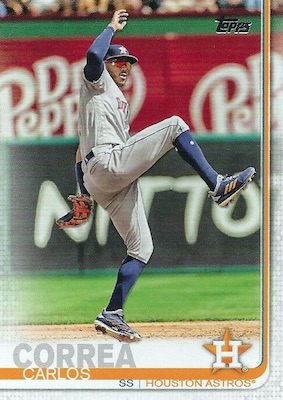 2019 Topps Series 1 Baseball Variations Checklist and Gallery 17