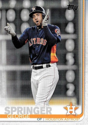2019 Topps Series 1 Baseball Variations Checklist and Gallery 189