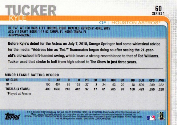 2019 Topps Series 1 Baseball Variations Checklist and Gallery 3