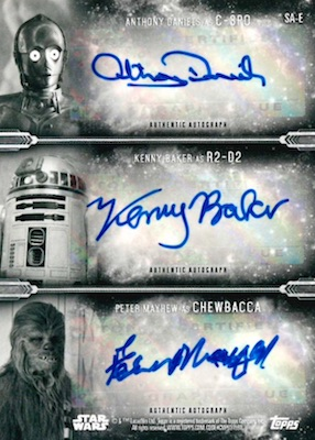 2019 Topps Star Wars Empire Strikes Back Black & White Trading Cards 9