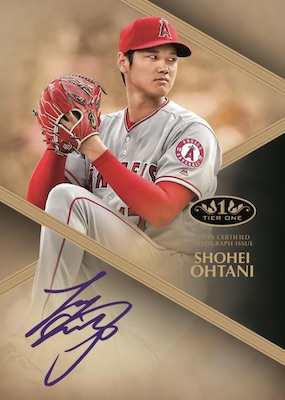 2019 Topps Tier One Baseball Cards 5