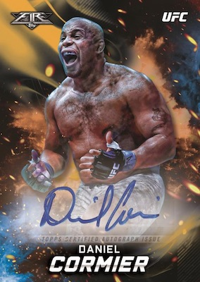 2019 Topps UFC Knockout MMA Cards 5