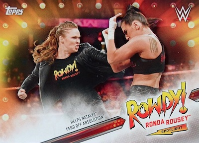 2019 Topps WWE Road to WrestleMania Cards 4