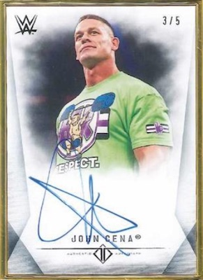 2019 Topps WWE Transcendent Collection Wrestling Cards 3