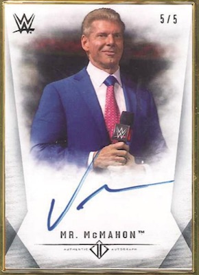 2019 Topps WWE Transcendent Collection Wrestling Cards 4