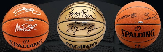 2019 Upper Deck Authenticated Buckets Autographed Basketball 4