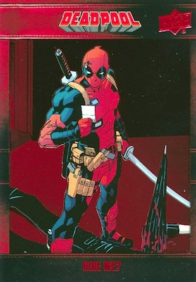 2019 Upper Deck Deadpool Trading Cards 3