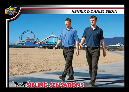 2019 Upper Deck Sibling Sensations Family Weekend Hockey Cards 1