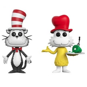 Funko Figure Exclusive Dr Seuss Cat in the Hat with Fish Bowl POP POP