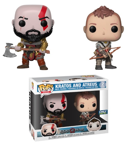 Ultimate Funko Pop God of War Figures Gallery and Checklist 11