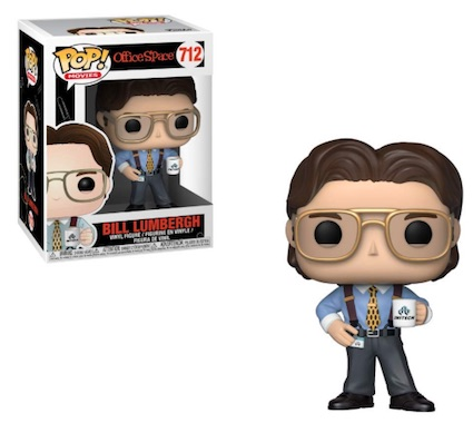 Funko Pop Office Space Vinyl Figures 4