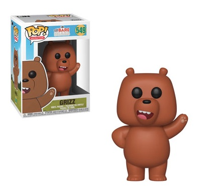 Funko Pop We Bare Bears Vinyl Figures 2
