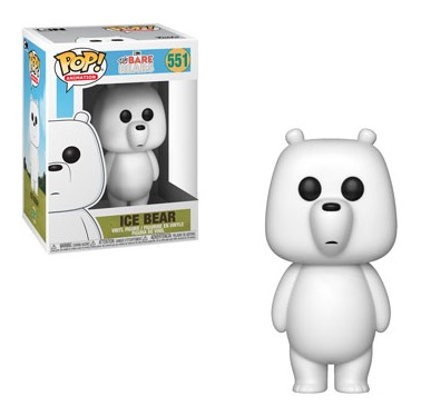 Funko Pop We Bare Bears Vinyl Figures 4