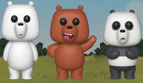 Funko Pop We Bare Bears Vinyl Figures 1