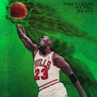 1997-98 Michael Jordan PMG Emerald Bidding Ends at $91,300