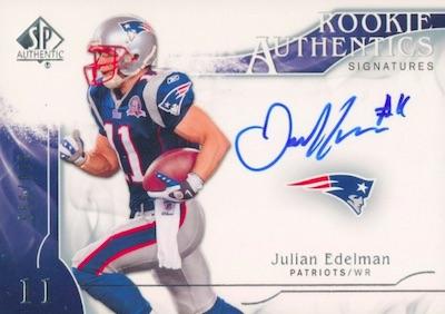 Top Julian Edelman Rookie Cards 4