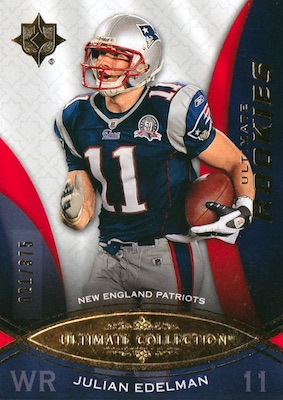 Super Bowl LIII MVP! Top Julian Edelman Rookie Cards 9