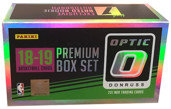 2018-19 Donruss Optic Premium Box Set Basketball Cards 3
