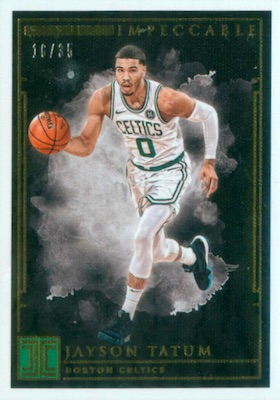 2018-19 Panini Impeccable Basketball Cards 25