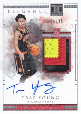 2018-19 Panini Impeccable Basketball Cards 26