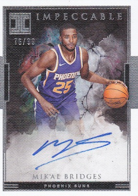 2018-19 Panini Impeccable Basketball Cards 31