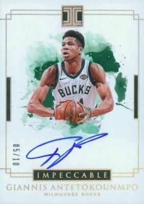2018-19 Panini Impeccable Basketball Cards 32