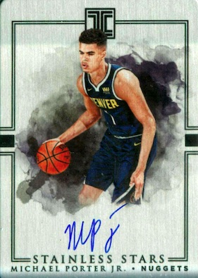 2018-19 Panini Impeccable Basketball Cards 34